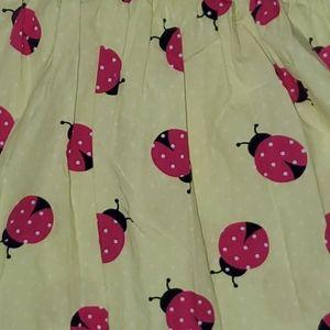 Yellow Gymboree dress with Ladybugs 5T